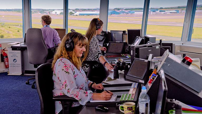 Glasgow Prestwick Airport - Tower