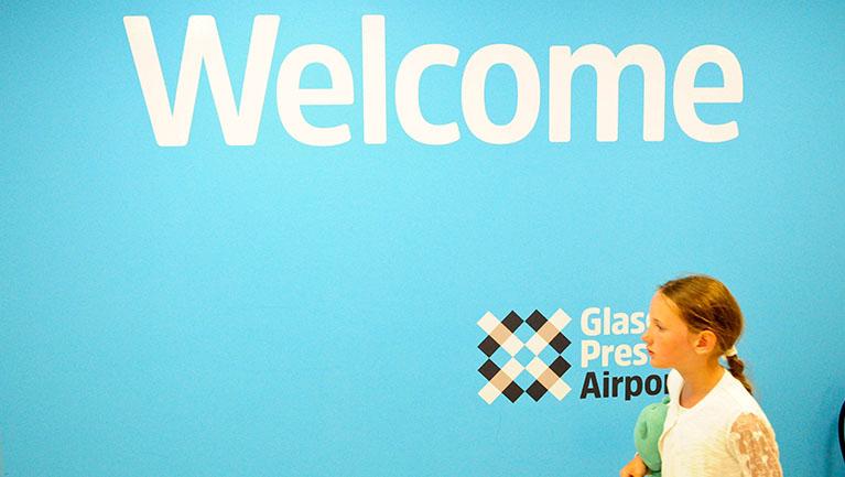 Glasgow Prestwick Airport rebrand