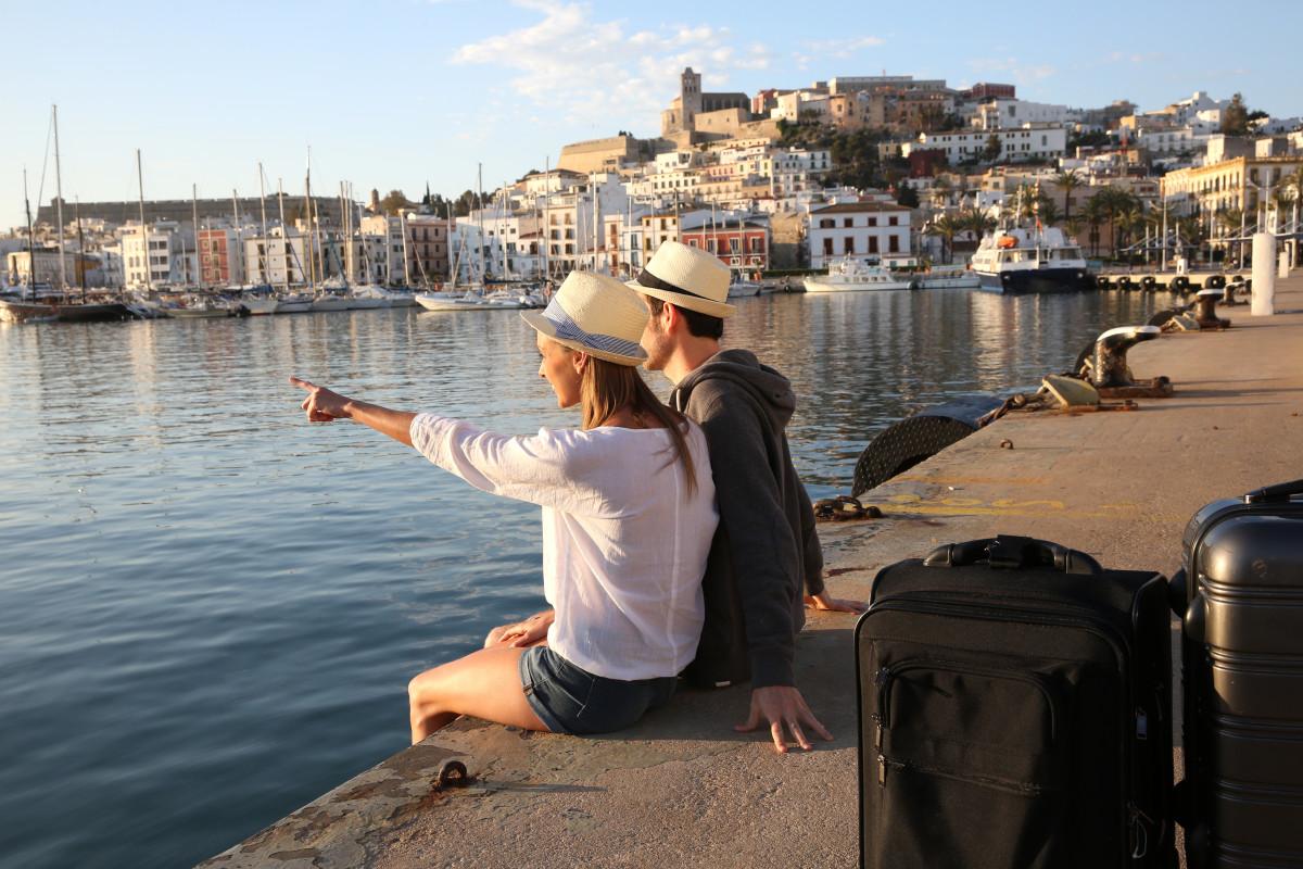 Ibiza town - fly to Ibiza