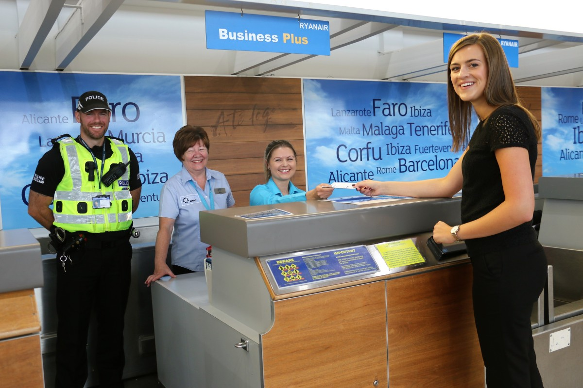 Police Scotland, Glasgow Prestwick Airport and partners join forces to crack down on disruptive passengers