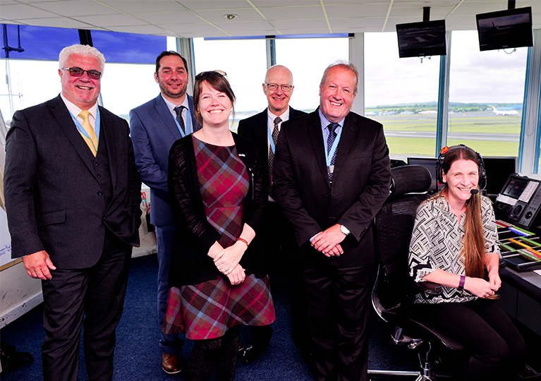 Glasgow Prestwick Airport builds on historic links with US