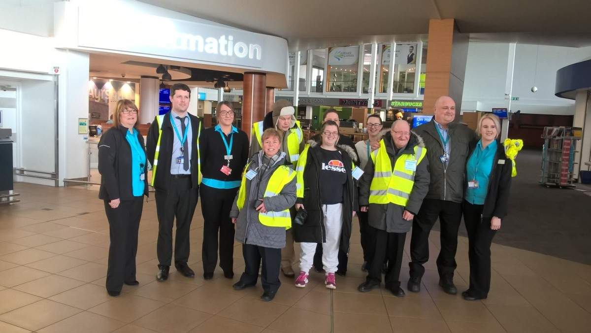 Glasgow Prestwick Airport host afternoon for Mainstay Trust Charity group