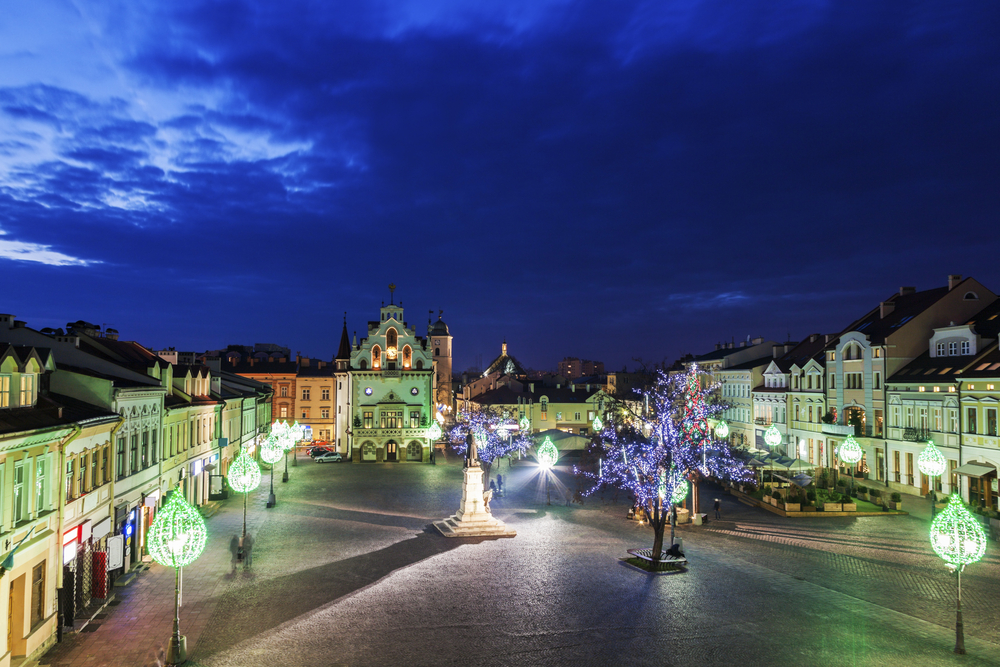 Reach the city of Rzeszow in Poland with Glasgow Prestwick Airport