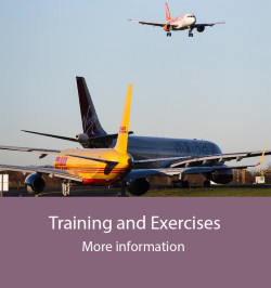 Training and Exercises - website
