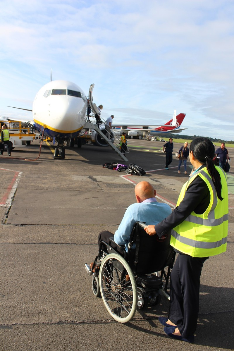 TGA Wheelchair Powerpacks Help Glasgow Prestwick Airport Deliver Accessibility Commitment To Disabled Passengers
