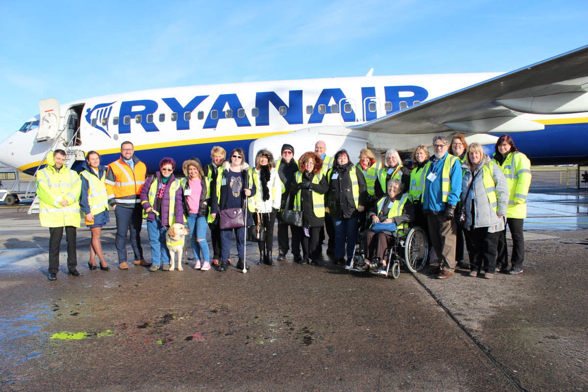 Glasgow Prestwick Airport welcomes visitors with reduced mobility, hidden and non-hidden disabilities