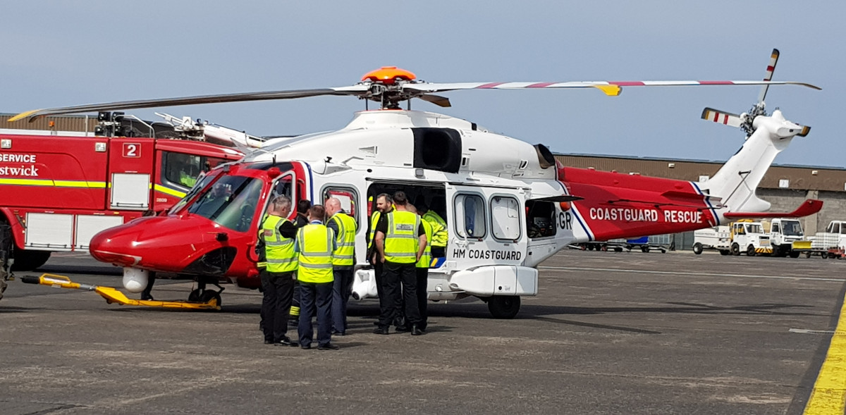 Glasgow Prestwick Airport joins in national campaign to lead the way in airport safety