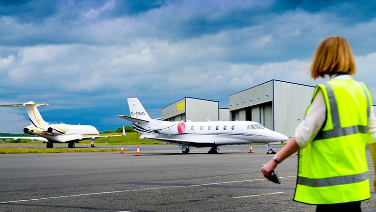 Glasgow Prestwick Airport - Executive Aviation