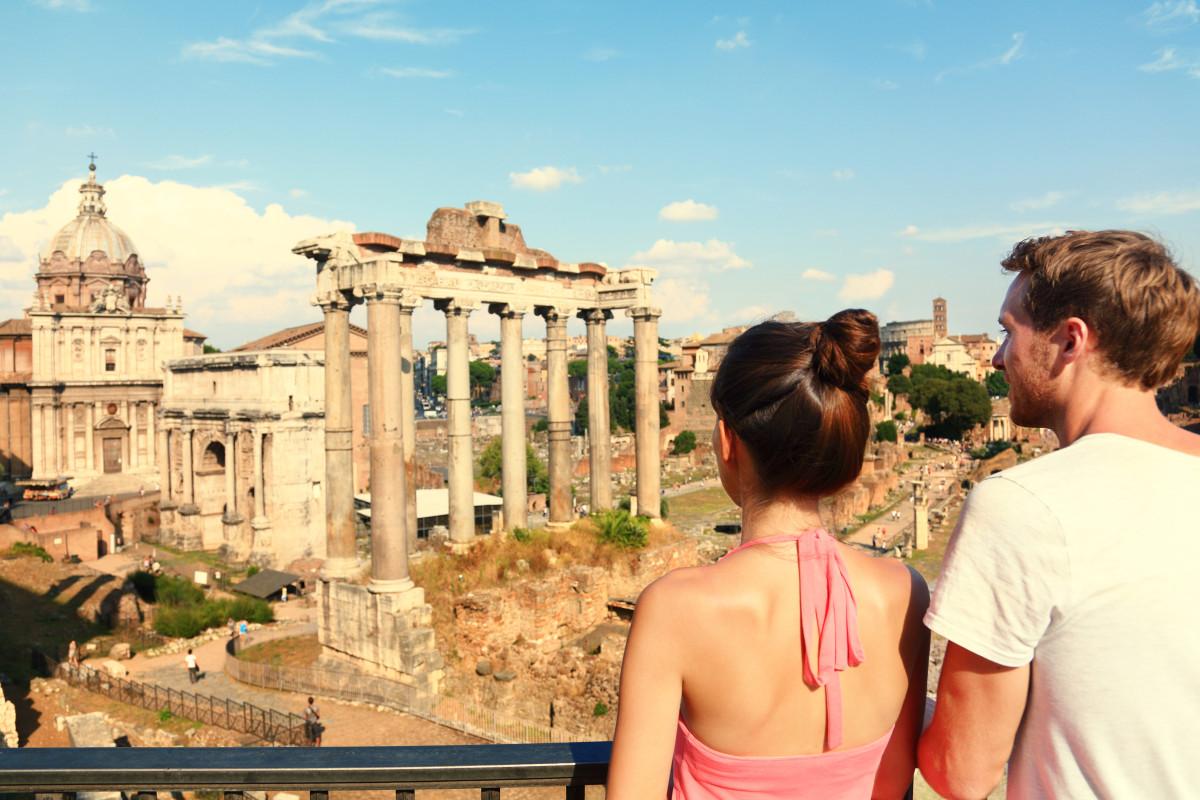Forum Landmark - fly to Rome