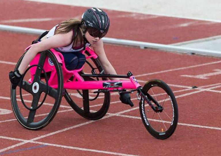 Shelby Watson races through Glasgow Prestwick Airport