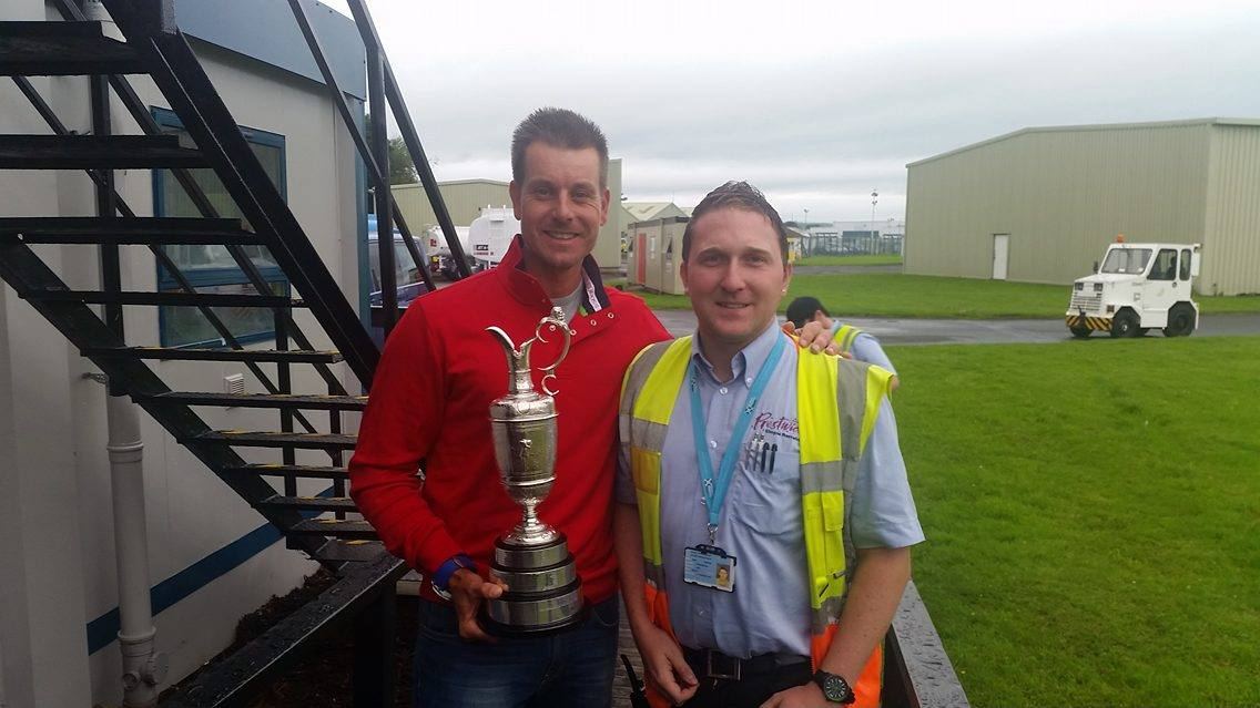 Glasgow Prestwick Airport's Aviation Services are on par with the best