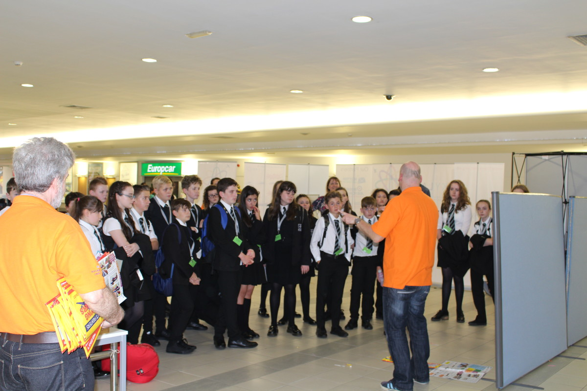 STEM week at Glasgow Prestwick Airport