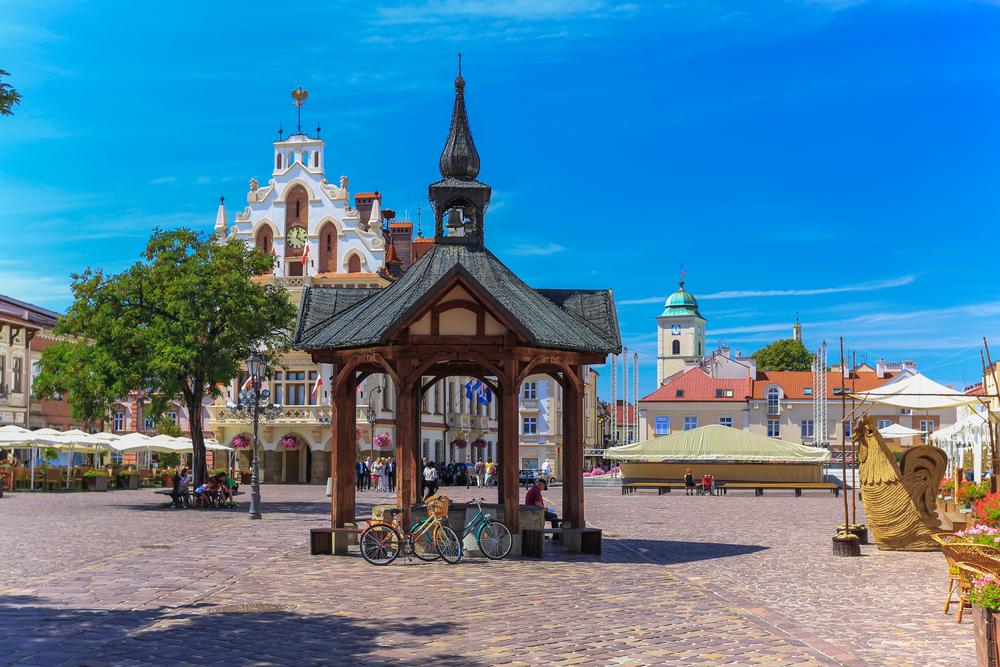 rzeszow market square