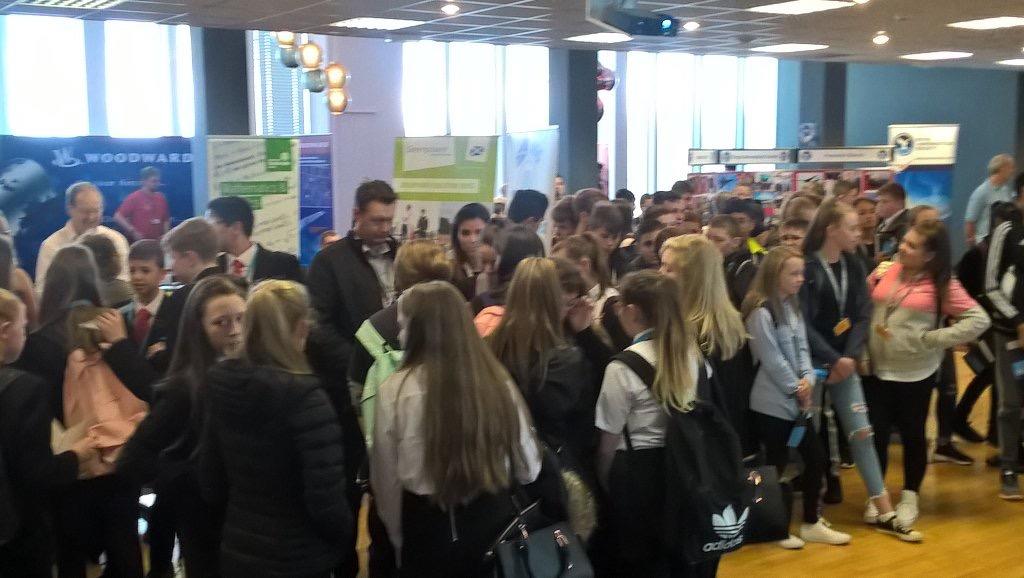 Glasgow Prestwick Airport hosts the Aerospace STEM week