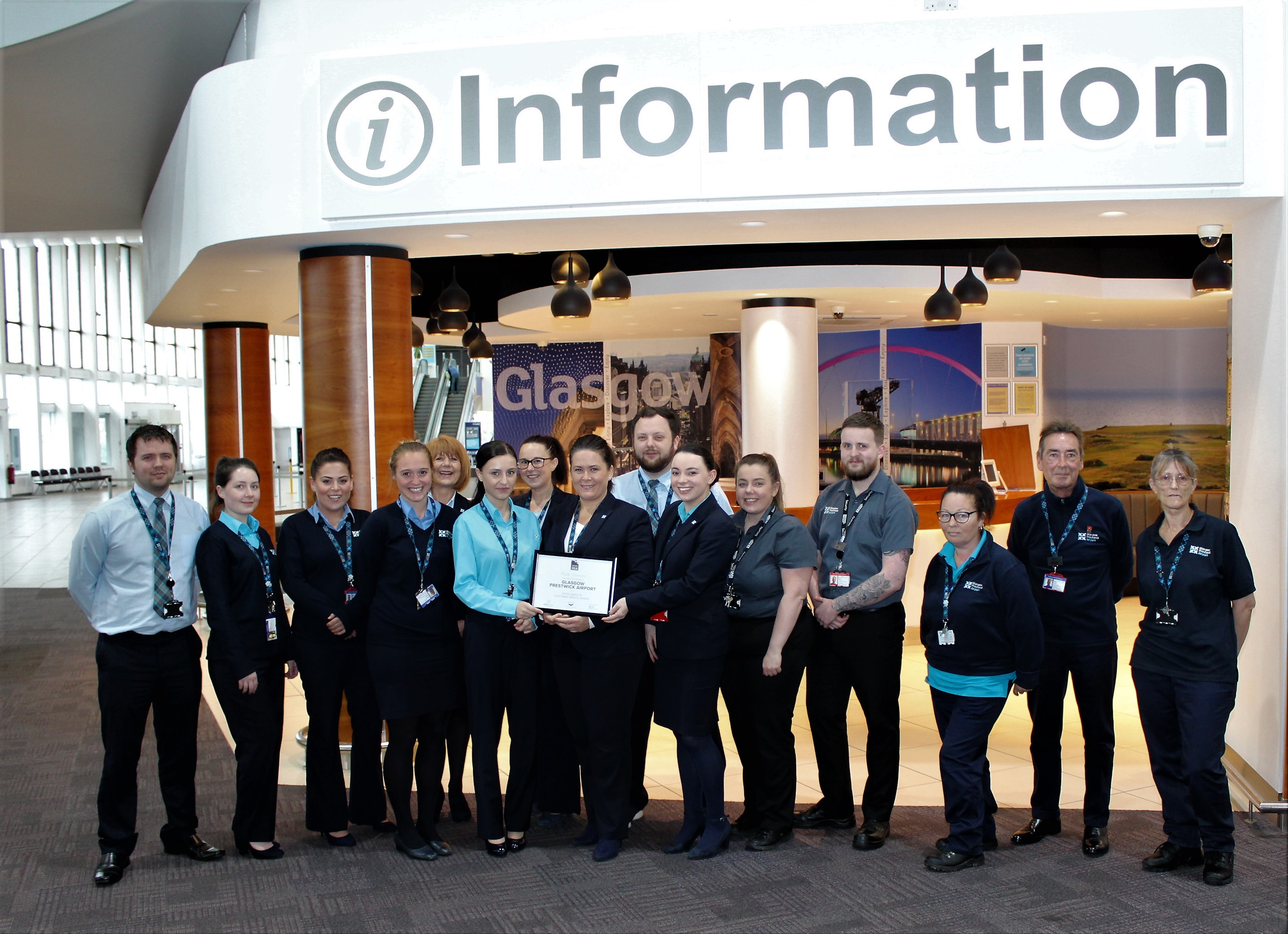 Glasgow Prestwick Airport - Highly commended for their