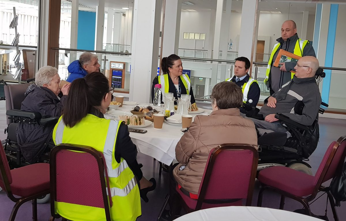 Glasgow Prestwick Airport holds annual host day for persons with reduced mobility