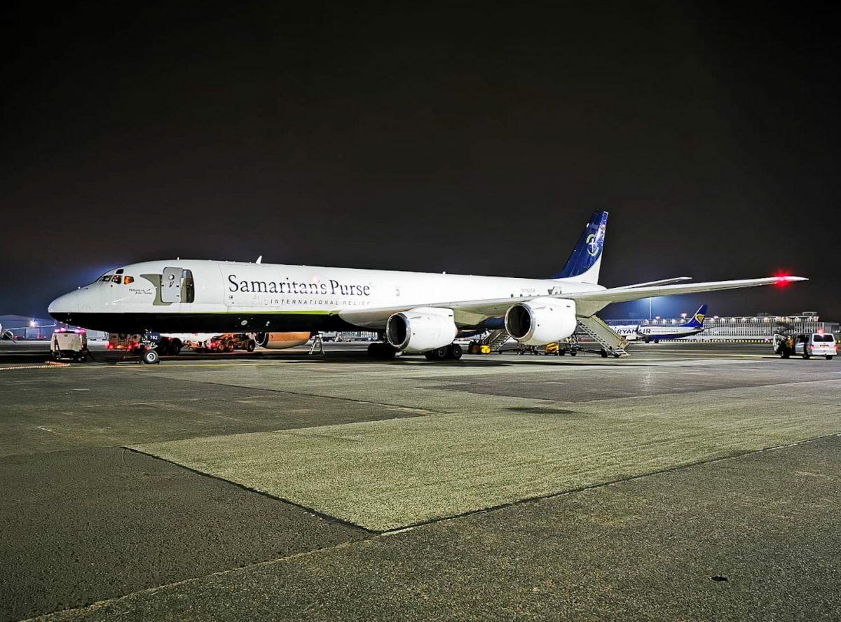 Glasgow Prestwick Airport supports Samaritans Purse on their latest international aid mission